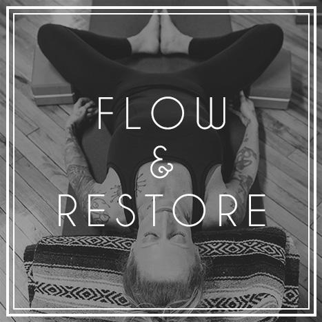 Flow & Restore Yoga Class at JTB Wellness