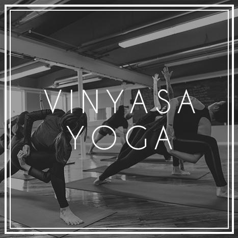 Vinyasa Yoga Classes at JTB Wellness